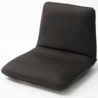 セルタン 座椅子 和楽チェア Sサイズ 幅430×奥行490~730×高さ100~350mm メッシュブラック (直送品)