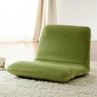 セルタン 座椅子 和楽チェア Sサイズ 幅430×奥行490~730×高さ100~350mm テクノグリーン (直送品)