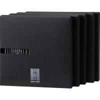 GP×縞縞 タオルハンカチ ブラック SHIMA-MT5-05 1セット(5箱入) 田中産業 (直送品)