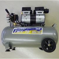 シンセイ 静音オイルレスコンプレッサー EWS-30 (直送品)