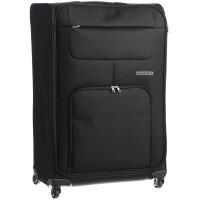 アメリカンツーリスター(AMERICAN TOURISTER) スーツケース 11~12泊用 エムブイプラス 78cm ブラック 124L (直送品)