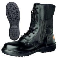 ミドリ安全 JIS規格 踏抜き防止 安全靴 長編上 RT738F P4 静電 25.0cm ブラック 1足 1830051209(直送品)