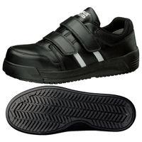 ミドリ安全 JSAA認定 耐滑 安全作業靴 プロスニーカー MPH15N 25.5cm ブラック 1足 2125037710(直送品)