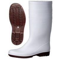 ミドリ安全 耐滑 作業長靴 NHGL 2000スーパー 先芯なし 24.5cm ホワイト 1足 2130008808(直送品)