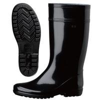 ミドリ安全 作業長靴 W2000 先芯なし 30.0cm ブラック 1足 2135000418(直送品)