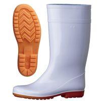 ミドリ安全 作業長靴 W2000 先芯なし 30.0cm ホワイト 1足 2135000518(直送品)