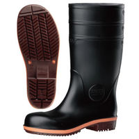 ミドリ安全 耐滑 耐油 耐薬 小指保護 安全長靴 PHG1000スーパー 23.0cm ブラック 1足 2140007205(直送品)