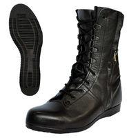 DONKEL(ドンケル) 安全靴 高所・構内用 出初め チャック式 ブラック 24.5cm R92090201 1足 (直送品)