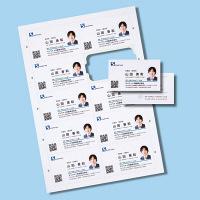 サンワサプライ インクジェットまわりがきれいな名刺カード・標準 JP-MCC02-1 (直送品)