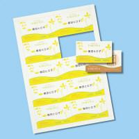 サンワサプライ マルチタイプ名刺カード・標準(アイボリー) JP-MCM06BG 5個 (直送品)
