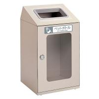 テラモト 屋内用ゴミ箱 ニートSTFミエル ペットボトル用 80L 灰 (直送品)