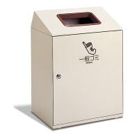 テラモト 屋内用ゴミ箱 ニートLGF 一般ゴミ用 90L 茶 (直送品)