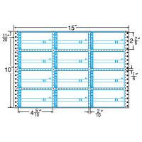 東洋印刷 ナナフォーム タックフォームラベル荷札タイプ 白 12面 1箱 M15CA(直送品)