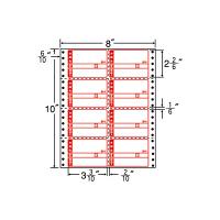 東洋印刷 ナナフォーム タックフォームラベル荷札タイプ 白 8面 1箱 MM8DP(直送品)