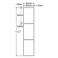 東洋印刷 ナナPD・SCMラベル PDラベル 白 連帳 3面 1箱 TM2B(直送品)