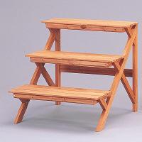 園芸用品 木製フラワースタンド GD-603 アイリスオーヤマ 1台 (直送品)