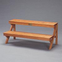 園芸用品 木製フラワースタンド GD-900 アイリスオーヤマ 1台 (直送品)