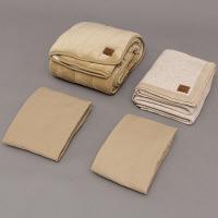 寝具 キャメル混寝具4点セット JC4-S アイリスオーヤマ 1セット (直送品)