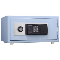 日本アイ・エス・ケイ ICカード式 耐火金庫 (1時間耐火) 11L スカイブルー CPS-30IC SB 1台 (直送品)