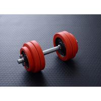 健康器具 ダンベル ラバーダンベルセット(15kg) YAMAZEN 1セット (直送品)