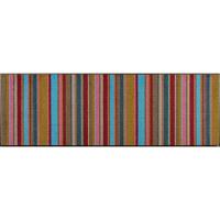 wash+dry薄型で丈夫な洗える玄関マット Stripes 60×180cm C014C 1枚 クリーンテックス・ジャパン (直送品)