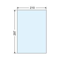 東洋印刷 保護フィルム透明タイプ PF7A4 (直送品)