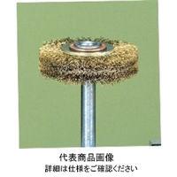 アルゴファイルジャパン(ARGOFILE) 真鍮ブラシ平型φ65×10 φ6.0軸 BM624 1本(直送品)