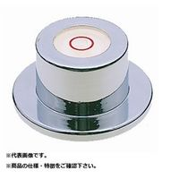 新潟理研測範(RSK) 丸形レベル(ツバ付) 25X38X18 ML-38 1台(直送品)