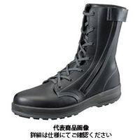 シモン(Simon) ウォーキングセフティ安全長編上靴 WS33チャック付 27.0cm 1700320 1足(直送品)