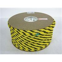 ユタカメイク 標識ロープドラム巻 12mm×100m RY-2 1セット(500m:100m入×5巻) (直送品)