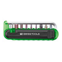 PB SWISS TOOLS(ピービースイスツール) バイクツールセット (9本組) グリーン 470GREENCN 1個(直送品)