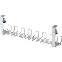Garage(ガラージ) 配線整理 ワイヤーケーブルトレーYY-WDCTL銀 (直送品)