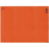 Garage(ガラージ) チャットボード 幅900×高さ1200mm オレンジ (直送品)