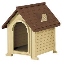 ペット用品 ペットハウス DX-580BR 超小型~中型犬用 882849 1台 リッチェル (直送品)