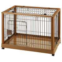 ペット用 木製ケージ940 小型、中型犬用 894910 1台 リッチェル (直送品)