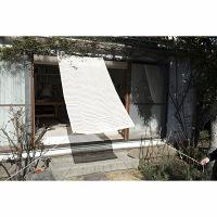 ガーデニング用品 YAMAZEN 涼風シェード 1000×2000mm アイボリー BRGS-1020(IV) 1個 (直送品)