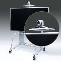 サンワサプライ 液晶・プラズマTVスタンド用TV会議カメラ設置台( CR-PL20専用) CR-PL20CT (直送品)