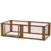 ペット用 木製3WAYサークル 6面50H BR 小型犬用 590317 1台 リッチェル (直送品)