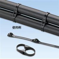 パンドウイットコーポレーション(PANDUIT) ダブルホースクランプタイ DHC1.12X1.75-D0 1袋(500本)(直送品)