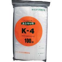生産日本社 セイニチ 「ユニパック」 Kー4 400×280×0.04 100枚入 K4 1セット(100枚:100枚入×3袋) 366ー7774 (直送品)