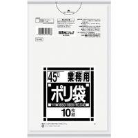 日本サニパック サニパック Nー4845L厚口透明 10枚 N48CL 1セット(10枚:10枚入×10袋) 375ー4731 (直送品)