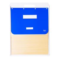 ケルン B4 スタンダード 15枚 ブルー カーデックス KD504-B (直送品)