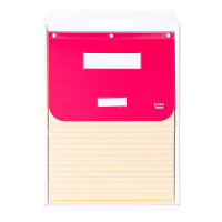 ケルン A4 スタンダード 15枚 ピンク カーデックス KD507-P (直送品)
