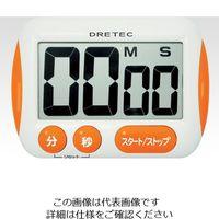 ドリテック(DRETEC) 大画面タイマー T-291・OR T-291OR 1セット(3台) 1-8011-01 (直送品)