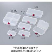 明邦化学工業 サンプルケース 103×73×23mm J-SS 1セット(20個) 1-3977-01 (直送品)