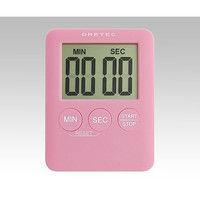 ドリテック(DRETEC) デジタルタイマー (ポケッティ) ピンク T-307PK 1セット(5個) 8-1441-03 (直送品)