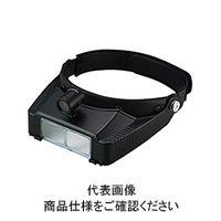 池田レンズ 双眼ヘッドルーペ ライト付 BM-120LB 1個 (直送品)