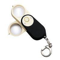 池田レンズ LEDライト付繰り出しルーペ  G-7568 1個  (直送品)