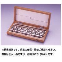 黒田精工 ブロックゲージバラ  1.23X2 1個  (直送品)