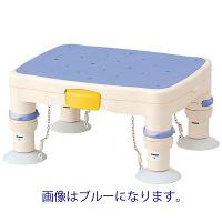 アロン化成 安寿 高さ調節付浴槽台R 標準 すべり止めシート レッド 536-480 (直送品)